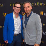Matthew Grant Godbey with BAFTA's Michael Howells